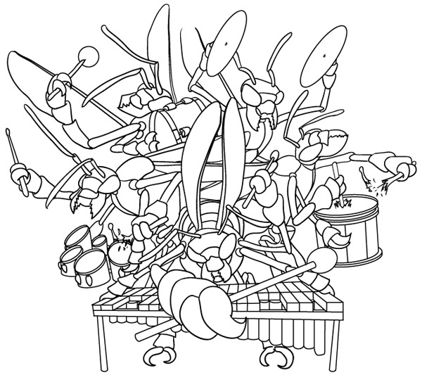 Digitally Inked Hornets